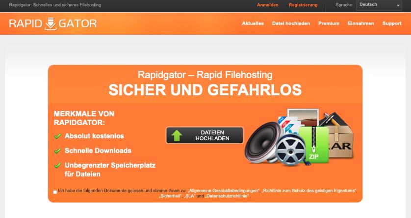 Rapidgator Premium Account
